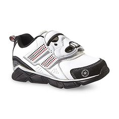 Star Wars Boy's Stormtrooper Light-Up Athletic Shoe! Great shoe for any child that loves Star Wars!