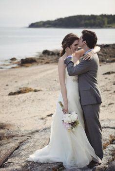 Backyard Maine Wedding from Cuppa Photography