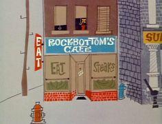Background art from a Mister Magoo cartoon (1961)