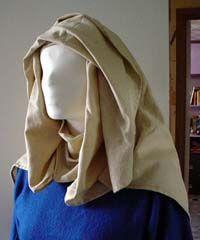 10th century European and Anglo-Saxon veils