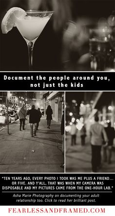Document People Around You, Not Just the Kids - from Ashley Manley