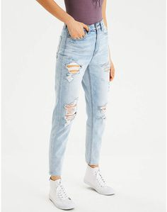 3f049483 Aeo Mom Jean American Eagle Outfits, American Eagle Jeans, Plus Size Teen,  American