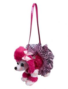 Justice is your one-stop-shop for on-trend styles in tween girls clothing    accessories. Shop our Swirl Poodle Pink Puppy Bag. ce8dd32932