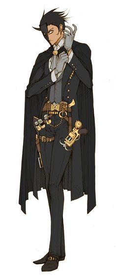 OC - Hargate Morrisay by MizaelTengu.deviantart.com on @deviantART