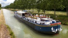 river cruise in France,, I'd love to take a cruise, any river in Europe Barge Holidays, Paris In May, Le Canal Du Midi, Barge Boat, Dutch Barge, Champagne Region, Excursion, Marin County, Europe