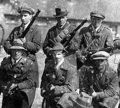 Irish Republican Army volunteers in Killarney County Kerry c 1919