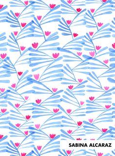 print & pattern: DESIGNER - sabina alcaraz