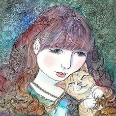 Happy+as+a+cat+in+curls