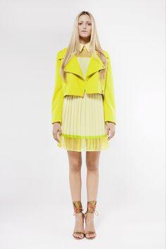 Perfecto - jaune citron - JONATHAN LIANG - Carnet de Mode