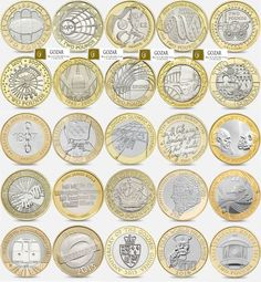 Rare £2 two Pound uk coin hunt coins for the Royal Mint albums