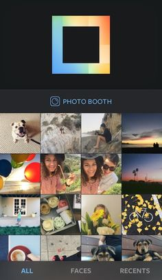 Favorite photo booth apps: Layout from Instagram app