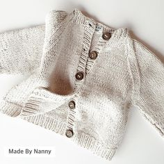 On a cold and rainy day like this, a little Made By Nanny cardigan is just the job ✂️ #madebynanny #smallbusiness #knitting #knittersofinstagram #pattern #patternmaking #craft #handmade #clothing #fabric #knitwear #dressmaking #material #shareyourknits #exclusive #tailoring #design #haberdashery #babyknits #children #littleones #sewing #nanny #babytrends #ontrend #baby #loveknitting #babyessentials #supportsmallbusiness #sewingroom