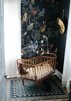rattan crib bassinet cot nursery byron bay hanging chair boy girl nursery