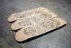 Skateboard illustration on Behance