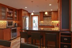 Like the color of cabinets...