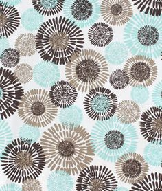 Michael Miller Cote D Azur Sea Fabric Flower Pattern Design Patterns