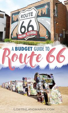 Route 66 on a budget - how we kept costs down & what we actually spent (from UK) - Lost In Landmarks Route 66 is an iconic road trip on many bucket lists but can you do it on a budget? Here's some tips for travelling the historic mother road on the cheap. Driving Route 66, Route 66 Road Trip, Us Road Trip, Road Trip Hacks, Road 66, Route 66 Sign, New Orleans, Las Vegas, Road Trip Destinations