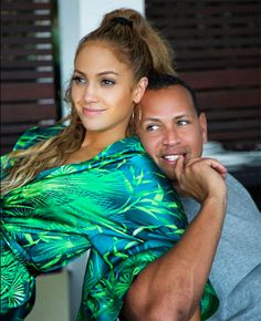 cool Jennifer Lopez and Alex Rodriguez Cling with Their Children