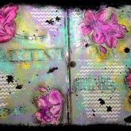 Art Journal page Limor Webber www.limorwebber.com IMG_1695