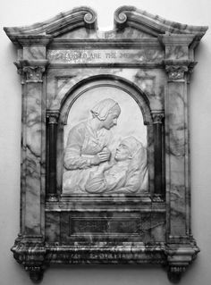 Memorial of Florence Nightingale in the crypt of St Pauls.