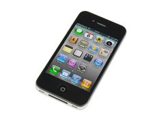 Fourth generation iPhone. Repair is straightforward, but the front glass and LCD must be replaced as a unit. GSM / 8, 16, or 32 GB capacity / Model A1332 / Black and White.
