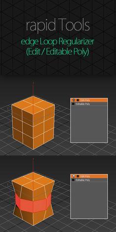 Edge Loop Regularizer EditPoly | ScriptSpot