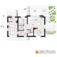 Dom w malinówkach 5 Design Case, House Plans, Floor Plans, How To Plan, Houses, House Floor Plans, Floor Plan Drawing, Home Plans