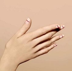 // 20 minimalist nail art | via FASHION Magazine