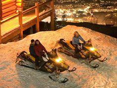 6. Snowmobile tour in Canada