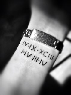 Roman numeral tattoo designs67