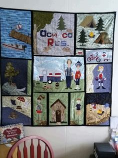 Nancy customized this quilt from Amy Bradley Designs Campers quilt ... : amy bradley quilt patterns - Adamdwight.com
