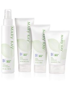 Mary Kay® Botanical Effects® Skin Care Four-Piece Set – Formula 3 (Oily Skin) – Botanical Effects® Skin Care – a simple regimen infused with the goodness of botanicals that are personalized to your skin type to bring out skin's healthy radiance.