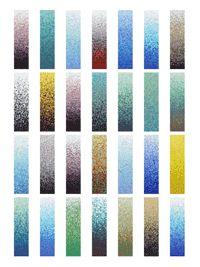 Mosaic Tile Gradient Columns - various color palettes available from MosaicTileSupplies.com