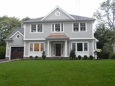 2014 center hall colonial exterior | Sunday's Open Houses Ideal for Buyers (and Sellers!)