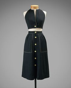 Claire McCardell  (American, 1905–1958)  Manufacturer: Townley Frocks (American) Date: 1944