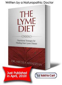 The Lyme Diet - New book from Nicola McFadzean, ND