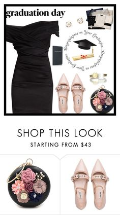 """""""Graduation Day 2"""" by majezy ❤ liked on Polyvore featuring WithChic, Miu Miu and Dolce&Gabbana"""