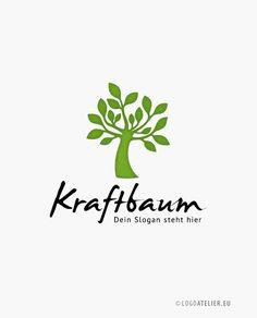 EXKLUSIVES Logo Kraft Baum Esoterik ||| Firmenlogo zu kaufen
