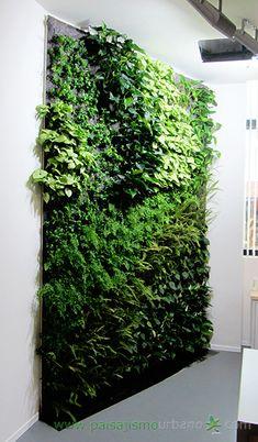 Jardines verticales Porronet - finalizado