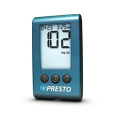 WaveSense Presto Blood Glucose Meter Kit & 50 Presto Blood Testing Strips - no-code technology; hypo and hyperglycemic warning alarms; alternative testing sites such as your palms or forearms; uses only .5ml sample size, large, backlit display only $47.97 Glucose Test, Coding, Display, Palms, Diabetes, Blood, Alternative, Personal Care, Kit