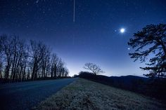 Blue Ridge Parkway Night Shoot-Stars Moon and Planets | Flickr - Photo Sharing!