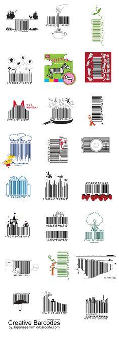 A great collection of creative #barcodes!