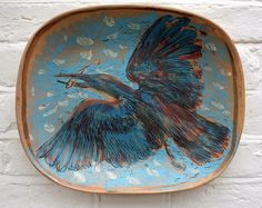 I possess a number of pieces by Quentin bell. Ceramic Decor, Ceramic Art, Vanessa Bell, Clay Plates, Bloomsbury Group, Garden Painting, Sculpture, Kitchen Art, Beautiful Space
