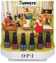 OPI Muppets Display