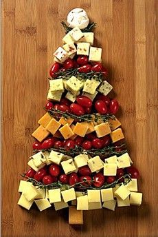 Tree Art - Cheese, Cranberries, Spices… Delight!
