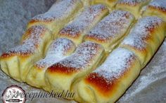to 600 x 432 Hungarian Desserts, Hungarian Recipes, Bread Recipes, Cookie Recipes, Dessert Recipes, Croatian Recipes, Creative Food, Hot Dog Buns, Food And Drink