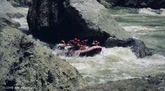 Whitewater rafting - Rio Upano in Ecuador