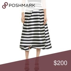 WANTED! Nicholas Stripe Skirt size 6 WANTED!!!! Not too familiar with this brand, but a size up I can always alter to fit if need be. Nicholas striped skirt!! (I listed another brand I am searching for, Tibi) Nicholas Kirkwood Skirts