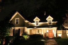 Residential Outdoor Landscape Lighting by Sherwood Landscape Design Michigan