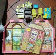 Casa Della Barbie+accessori Vintage Bambole Fashion Doll | eBay Barbie, Jukebox, Friends Family, Fashion Dolls, Ebay, Home, Italy, Barbie Dolls